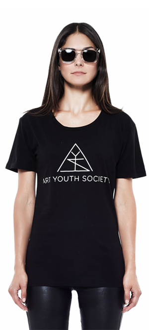 Art_Youth_Society_Summer_tee_blk_logo_front