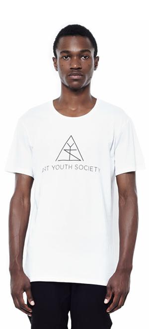 Art_Youth_Society_Summer_tee_wht_logo_front