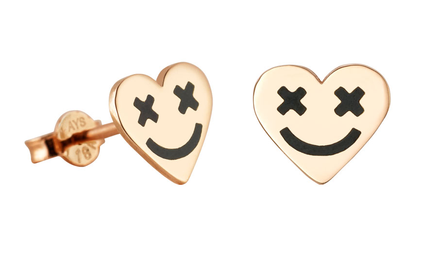 ear-stud-full-heart-smiley-black-art-youth-society-rose-gold-1