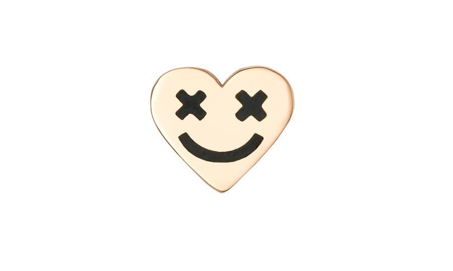 ear-stud-full-heart-smiley-black-art-youth-society-rose-gold