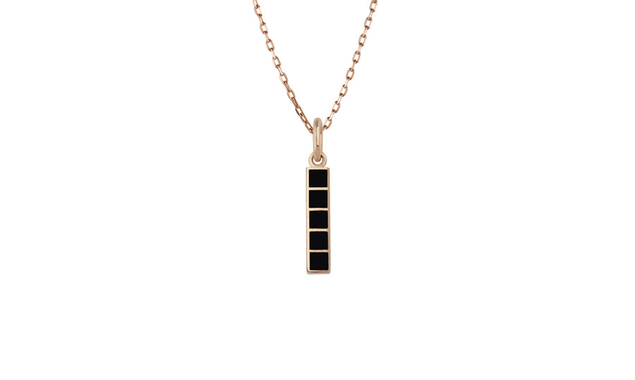 enamel-bar-pendant-black-art-youth-society-rose-gold