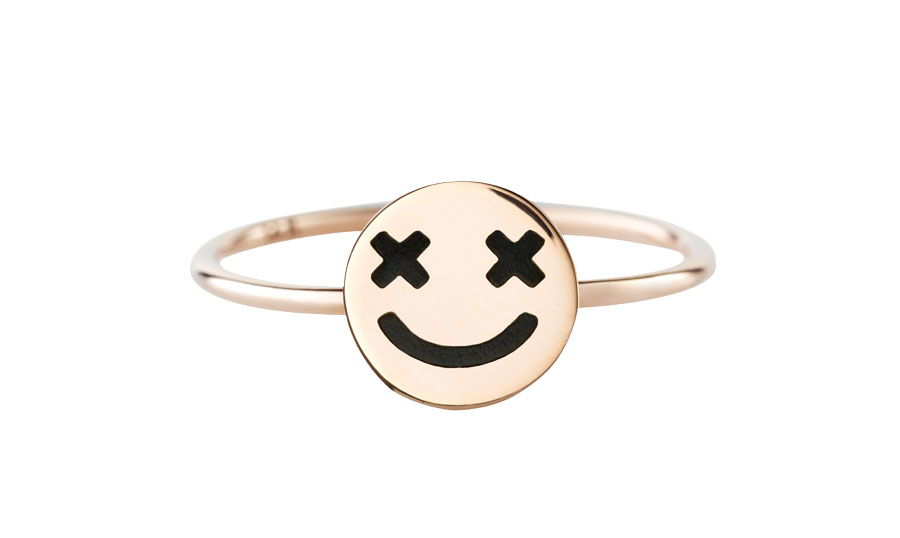 full-circle-smiley-black-ring-art-youth-society-rose-gold