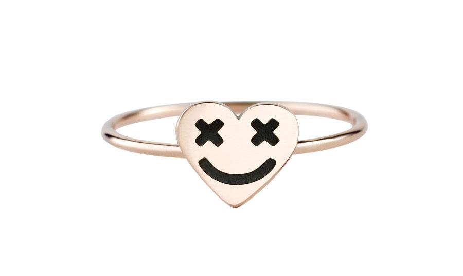 full-heart-smiley-black-ring-art-youth-society-rose-gold